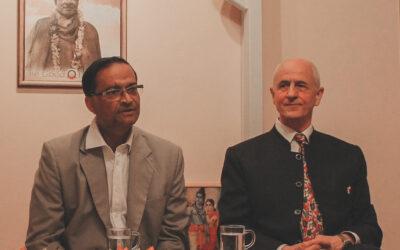 Vendégünk volt India magyarországi nagykövete