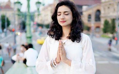 Vendégünk volt Ankita Sood, India Jóga Nagykövete