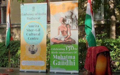 Gandhi 150. születésnapjára emlékeztünk