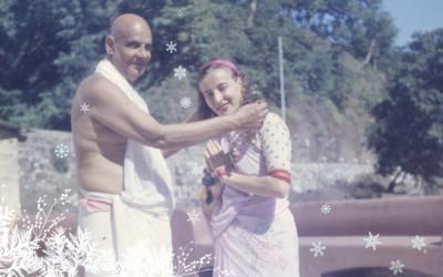 Karácsony az ásramban 1950-es években