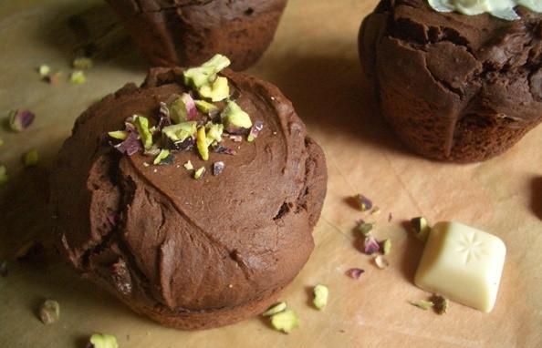 Csokis geszetnyés muffin