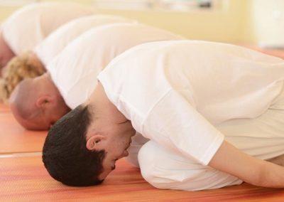 Gyakorló jógaóra GERINCBARÁT