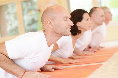 Gyakorló jógaóra 60 percben