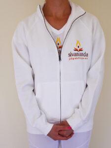 Sivananda női pulóver cipzáras
