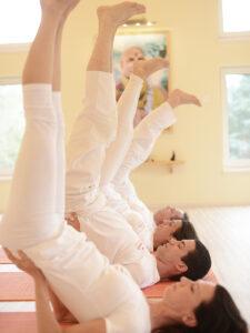 Gyakorló jógaóra