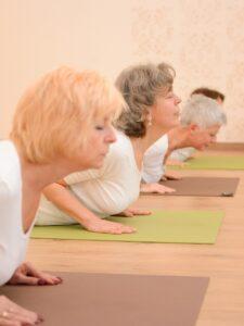 Könnyített/Senior terápiás jógaóra