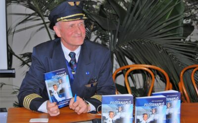 Könyvbemutató: Egy elszakadt pilótanapló