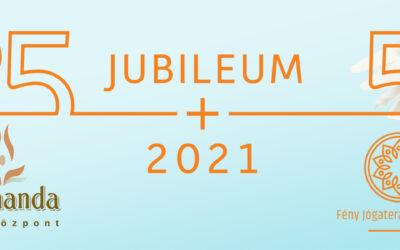 2021 JUBILEUMI ÉV