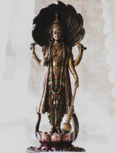 Visnu szobor