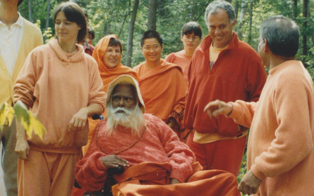 Szvámí Visnu-dévánanda utolsó tanítása